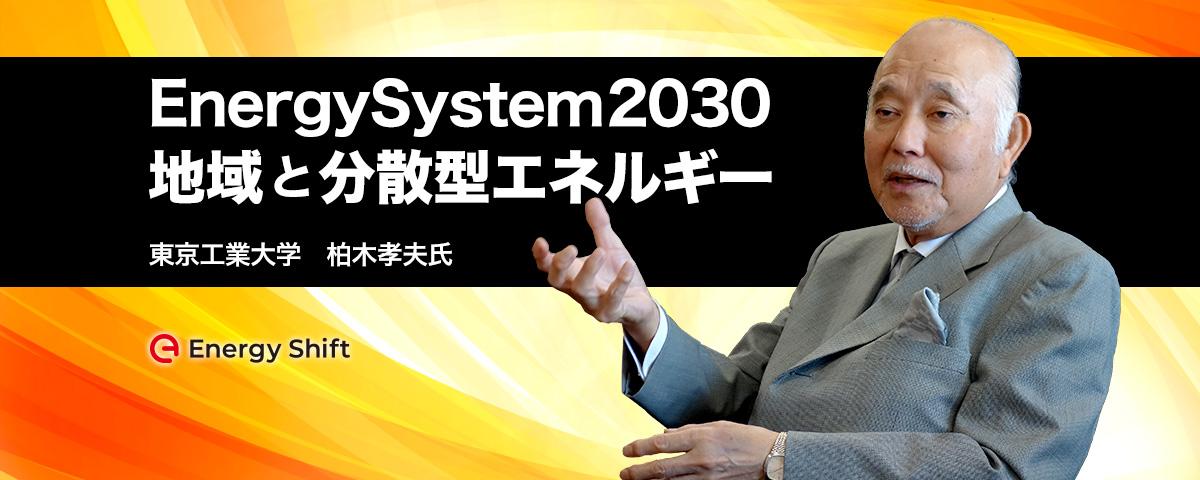 2030年のエネルギーシステム:地域のレジリエンスを強化する分散型エネルギー 東京工業大学 柏木孝夫特命教授に聞く(1)