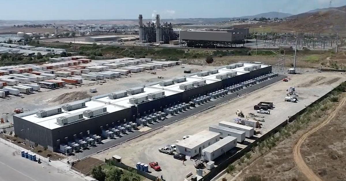 世界最大の250MWバッテリー施設がカリフォルニアに完成