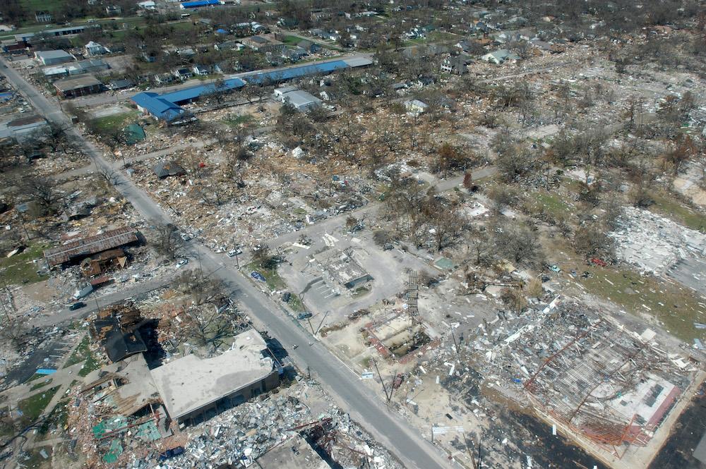 ハリケーン・カトリーナの被害(ミシシッピ)