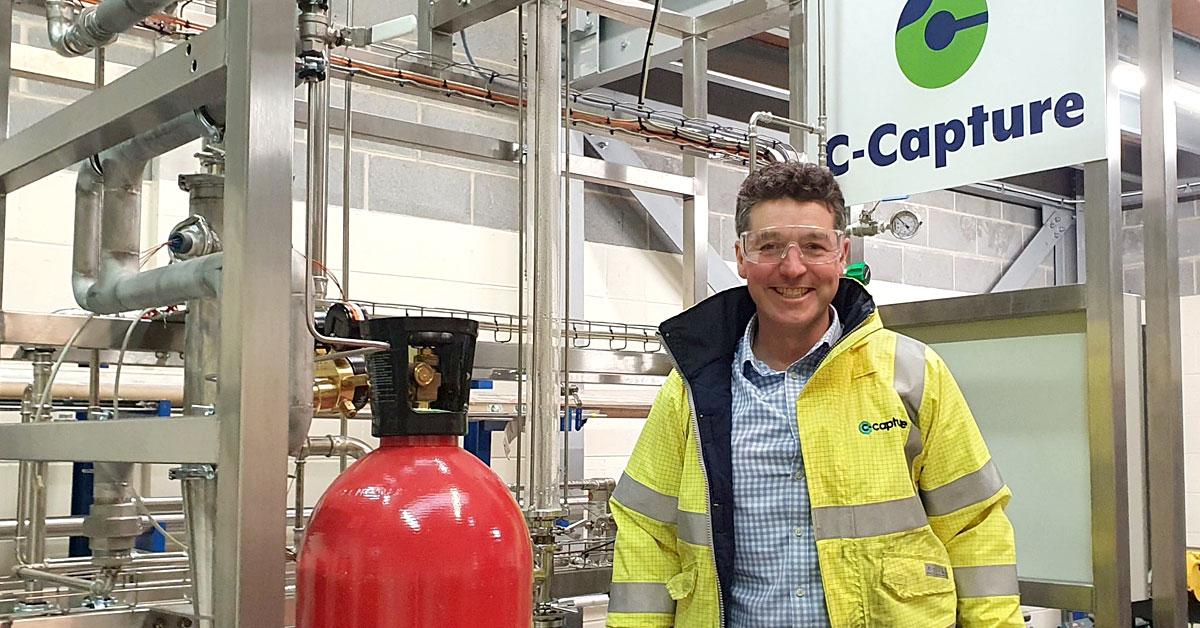 CO2回収技術の英C-Capture、英VCのbp Venturesなどから800万ポンド(約12億円)の資金調達