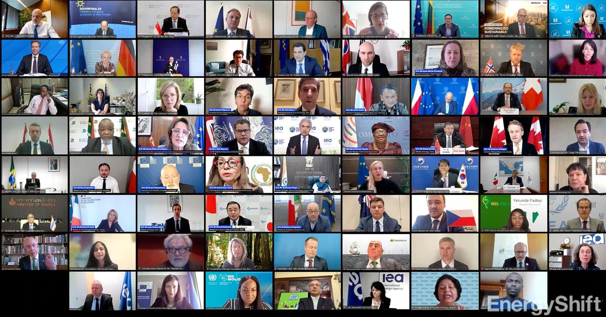 IEA-COP26で、世界中のエネルギーと気候のリーダーがクリーンエネルギーを約束