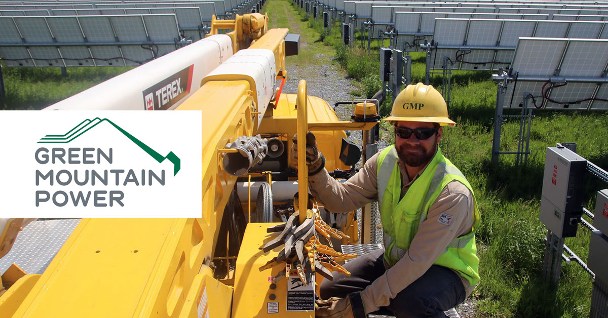 電力会社初のBコーポレーション、Green Mountain Powerの全方位的な電力サービス
