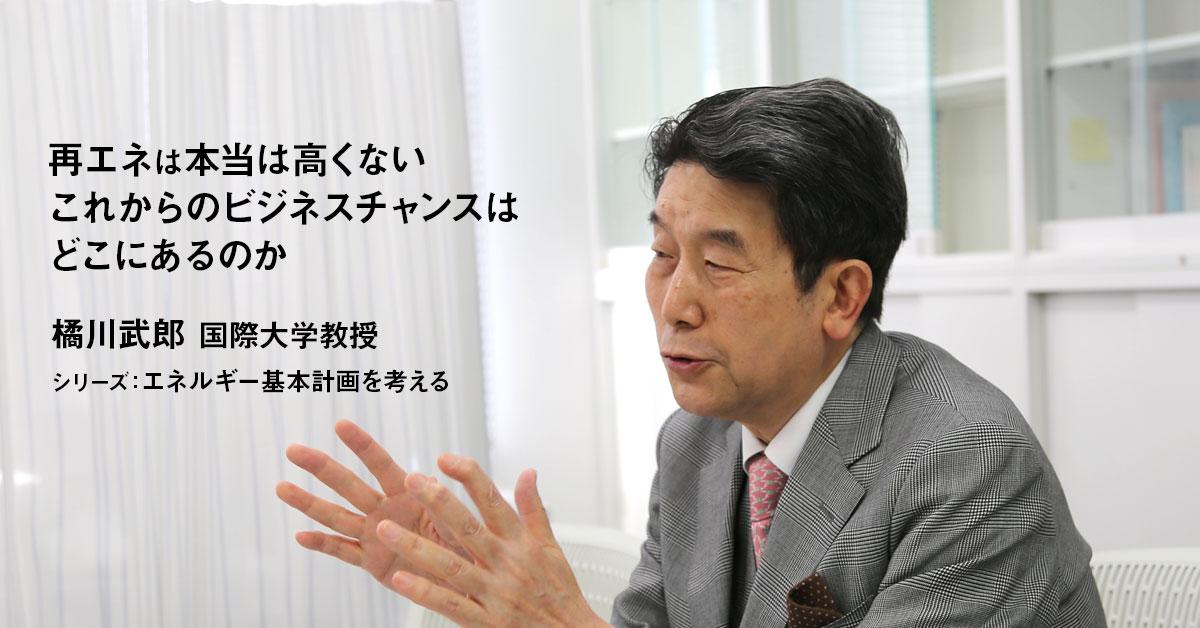 本当は高くない再エネ、これからのビジネスチャンスはどこにあるのか 国際大学 橘川武郎教授 インタビュー(中編)