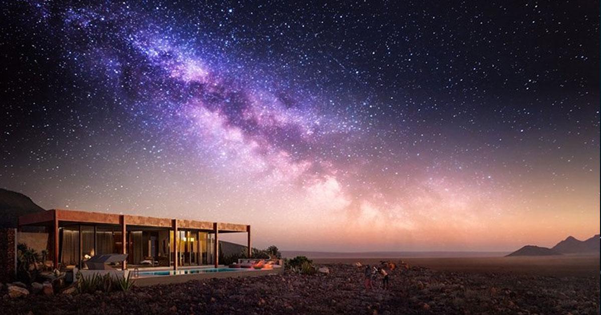 andBeyond アフリカで唯一の「国際星空保護区」内、ナミビア砂漠に佇むエコ・ラクシャリーリゾート
