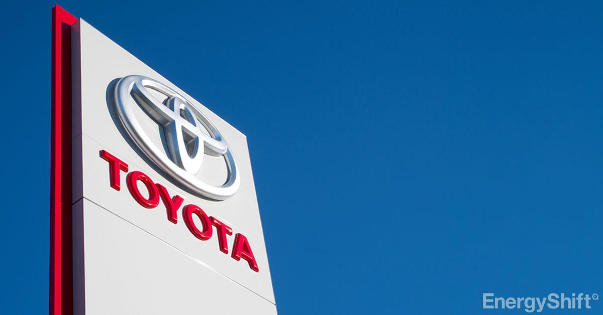 トヨタ株が初の1万円台突破、EV強化など脱炭素戦略が評価