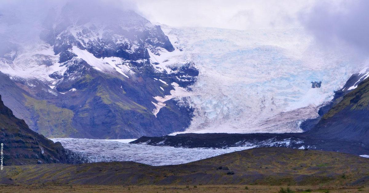 連載「変わりゆく地球」 アイスランド 南部 ヴァトナヨークトル氷河【第1回】