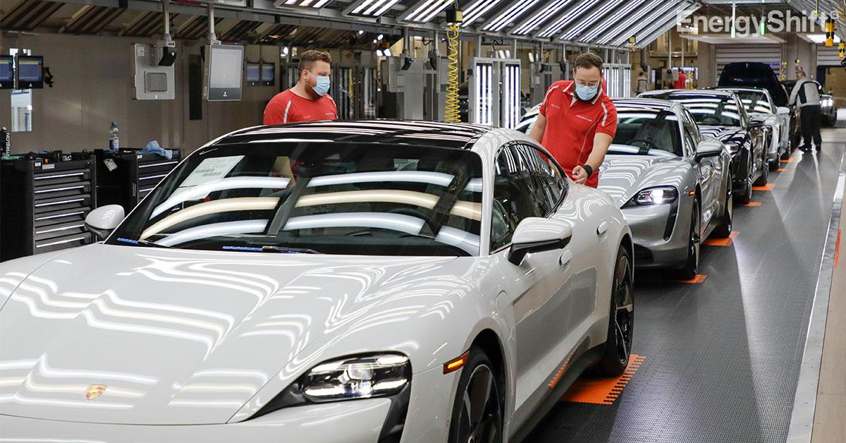 ポルシェ 再生可能エネルギー100%での生産を部品供給メーカーに義務化