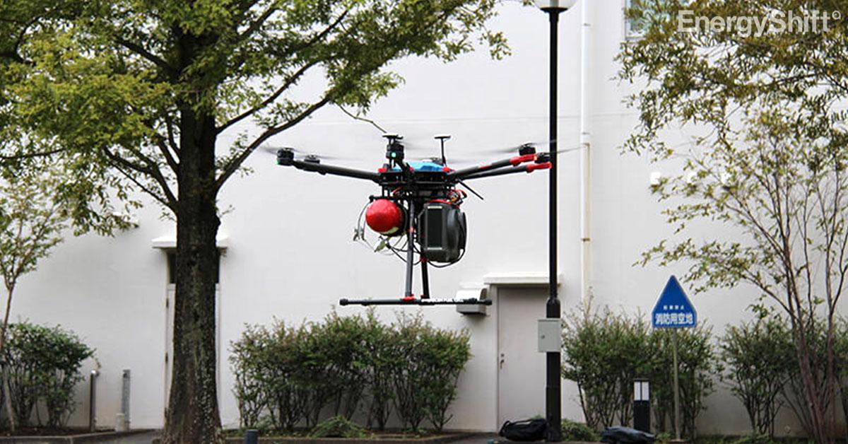 日本初、Jパワーが褐炭由来水素を利用したドローン飛行デモを実施