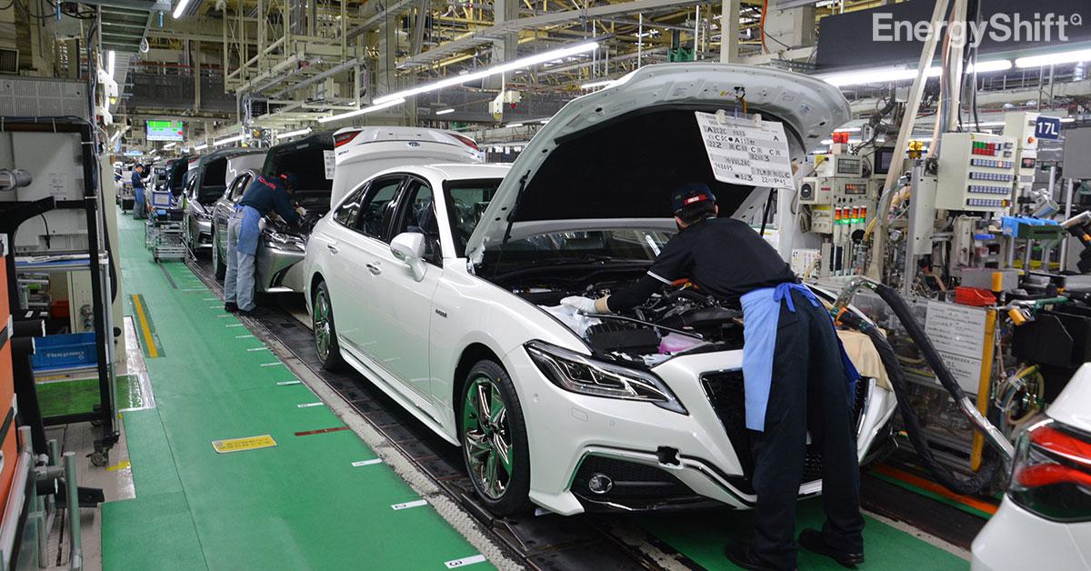 トヨタ、部品供給不足により生産計画の見直しを実施 9月10月で40万台減産