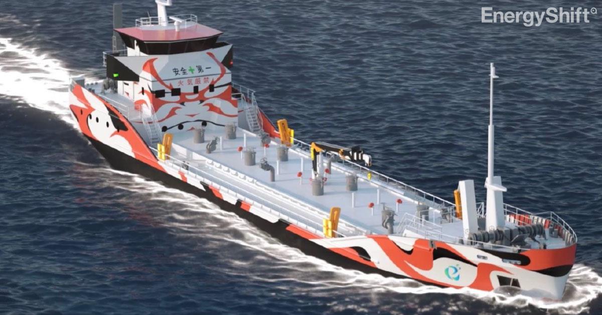 世界初 EVタンカー用の給電設備を川崎港に設置